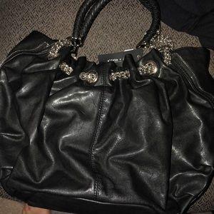 Olivia + Joy black Nicolette handbag